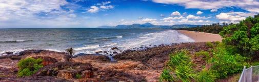 A long beach Royalty Free Stock Photo