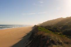 Long Beach bei Corringle gleitet Küstenvorland-Reserve, Victoria, Australien lizenzfreies stockbild