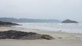 Long Beach British Columbia fotografering för bildbyråer