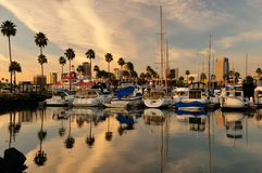 Long Beach CA Imagem de Stock Royalty Free