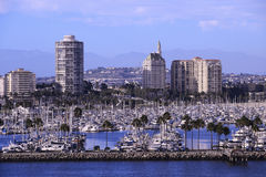 Long Beach CA Royalty Free Stock Images