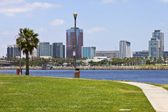 Long Beach California. Royalty Free Stock Photography