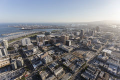 Long Beach California Aerial View Royalty Free Stock Photography