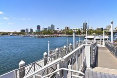 Long Beach California. Royalty Free Stock Image