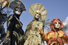 Long Beach Carnevale festival Stock Images