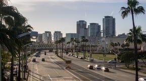 Long Beach City Stock Image
