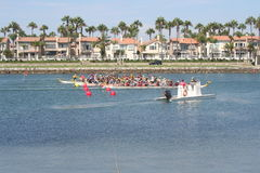 Long Beach Dragon Boat Festival Fotografie Stock