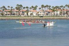 Long Beach Dragon Boat Festival Stock Foto's