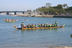 Long Beach Dragon Boat Festival Foto de Stock