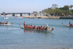 Long Beach Dragon Boat Festival Stock Foto