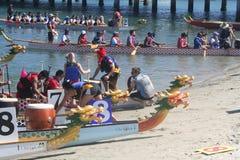 Long Beach Dragon Boat Festival photos stock