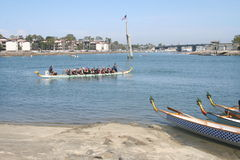 Long Beach Dragon Boat Festival Images stock
