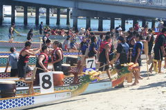 Long Beach Dragon Boat Festival Imagem de Stock Royalty Free