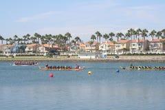 Long Beach Dragon Boat Festival Royalty-vrije Stock Fotografie