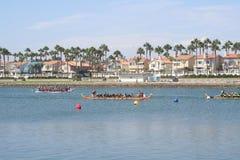 Long Beach Dragon Boat Festival Images libres de droits