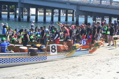 Long Beach Dragon Boat Festival Royalty Free Stock Images