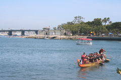 Long Beach Dragon Boat Festival Royalty Free Stock Photography