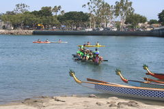 Long Beach Dragon Boat Festival Stock Image