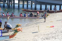 Long Beach Dragon Boat Festival Royalty Free Stock Photo