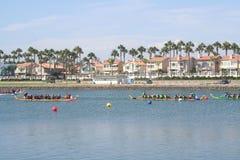 Long Beach Dragon Boat Festival Stock Image
