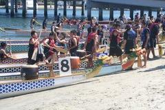 Long Beach Dragon Boat Festival Stock Photo