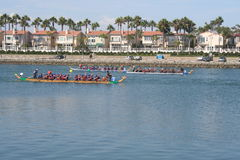 Long Beach Dragon Boat Festival Stock Images