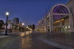 Long Beach at dusk Royalty Free Stock Photo