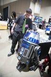 Long Beach expo Droid Komiczny budowniczy 3 obrazy royalty free
