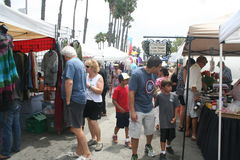Long Beach Farmer's Market Royalty Free Stock Images