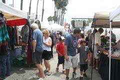 Long Beach Farmer's Market Royalty Free Stock Images