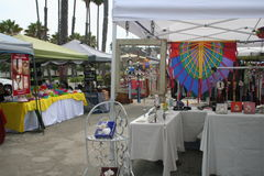 Long Beach Farmer's Market Stock Photo