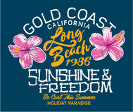 Long Beach -Feiertag lizenzfreie abbildung