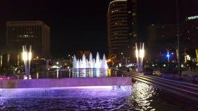 Long Beach -fontein Stock Afbeeldingen
