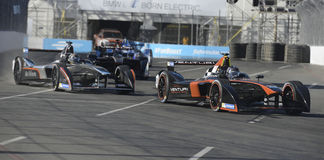 Long Beach Formula-e Electric grand prix Stock Images