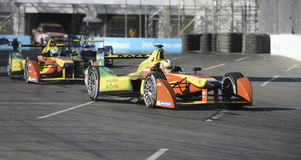 Long Beach Formula-e Electric grand prix Royalty Free Stock Photos