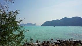 long beach on ko phi phi island Stock Photography