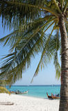 long beach on ko phi phi island Royalty Free Stock Photo
