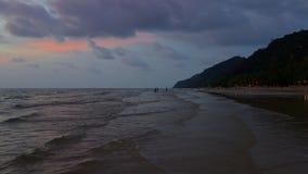 Long beach at Koh Chang, Trat Stock Photo