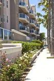 Long Beach kondominia w południowym California. Zdjęcia Royalty Free