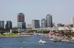 Long Beach la Californie Photographie stock libre de droits