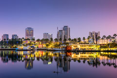Long Beach la Californie Images stock