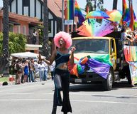 Long Beach Lesbian and Gay Pride Parade 2012 Royalty Free Stock Images
