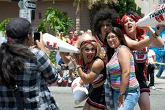 Long Beach Lesbian and Gay Pride Parade 2012 Royalty Free Stock Image