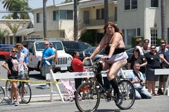 Long Beach Lesbian and Gay Pride Parade royalty free stock photo