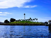 Long Beach Light House stock photography