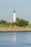Long Beach lighthouse Royalty Free Stock Photo