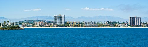 Long Beach, Los Angeles, la Californie photos stock