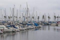 Long Beach Marina Zdjęcie Royalty Free