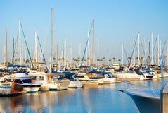 Long Beach Marina Stock Photography
