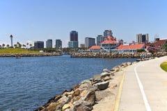 Long Beach marina California. Royalty Free Stock Photography
